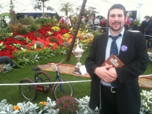 Officiating at the Southport Flower show ecumenical service.